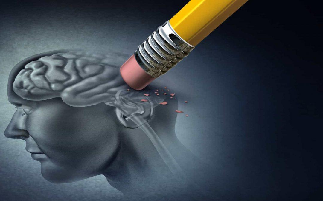 A perda de memória na doença de Alzheimer