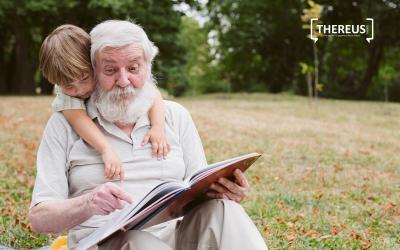 A família, a atividade física e o passatempo na demência