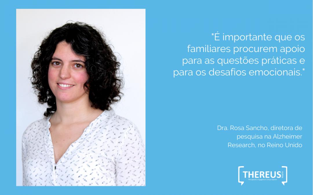 A pesquisadora Rosa Sancho explica o que é a flutuação de sintomas na demência
